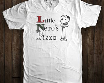 Home Alone Shirt - Little Nero's Pizza - Graphic T-Shirt - Christmas Home Alone