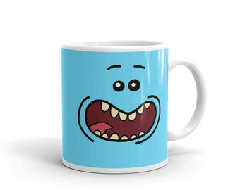 Mr Meeseeks Rick and Morty Coffee Mug