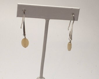 Sterling Silver Earrings with Pineapple Quartz