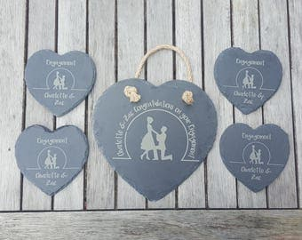 Wedding Slate Gift Set