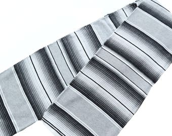 Monochromatic Serape blanket
