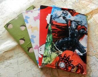 Handmade Fabric Passport Cover