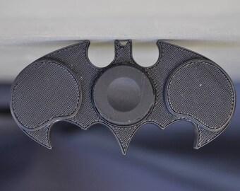 "Model ""Batman"" 3D printed fidget hand spinner, 3D printing services"