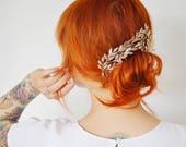 Bridal Tiara Corsage, original jewelrybox 1880, Myrtle Tiara, German Wedding Headpiece, Bridal Crown