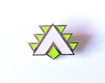 Orisa Fortify Brass Enamel Pin