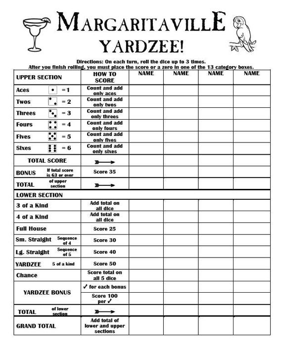 photograph relating to Yardzee Score Card Printable Free identify Blank Yahtzee Ranking Sheet Printable Glance Accomplishment