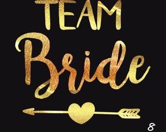 Bride Tribe Tattoos • Bachelorette Party • Bridal Shower •  Bridal Tattoos • Flash Tattoos