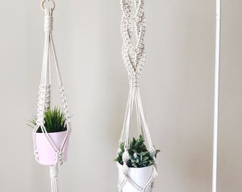 Macrame Plant Hanger, Plant Lady, Modern Plant Stand, Hanging Planter, Macrame Plant Holder, Bohemian Decor, Large Plant Hanging Macrame