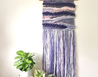 Large Woven Wall Hanging, Weaving Wall Hanging, Nursery Decor, Wall Hanging Tapestry, Textile Wall Hanging, Woven Wall Art, Boho Home Decor