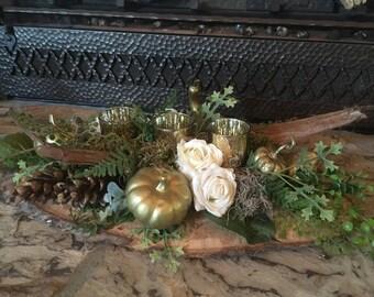 fall decor, thanksgiving arrangement