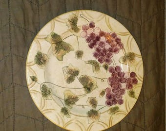 Vintage Oneida Veneto Grape Salad Plate