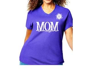 Mom tough distressed SVG DFX Cut file  Cricut explore file Commercial license Mothers day svg  t-shirt design