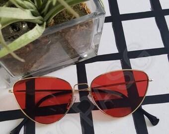 Rihanna Inspired Alien Cat-eye Sunglasses