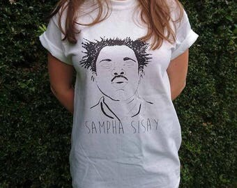 Sampha T-shirt 'Rappers that sound cool until you find out their real names'
