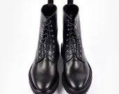 Black Leather Shoes, Women Boots, Leather Boots, Black Shoes, Punk Shoes, Classic Boots, Winter Shoes, Casual Women Shoes, Women Black Shoes