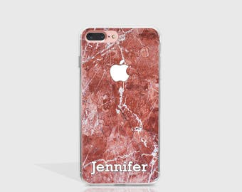 Personalized iPhone 7 Case Custom Name iPhone 7 Plus Case iPhone 6 Case For iPhone 6S Case Birthday Gift For Her Personalized Gift -PT112