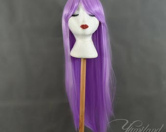 Straight Purple Wig | Long Purple Wig | Straight Wig | Long Wig | Cosplay Wig with high quality synthetic hair