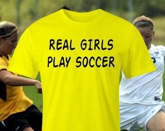 Girls Soccer print, Soccer t-shirt, Soccer fans print, Ladies Soccer t-shirt, Soccer team print, Girls Football, Soccer print.