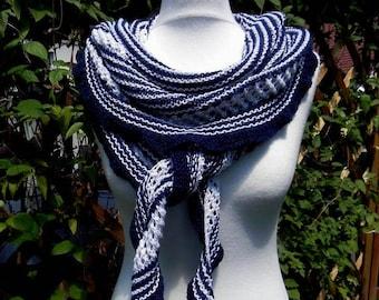 Knitted SCHALTUCH shoulder cloth cotton Summer scarf