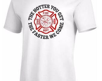 firefighter t shirts-grey-firefighter shirt-funny