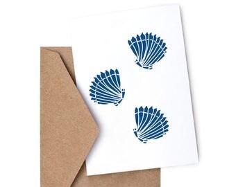 Shells Greetings card