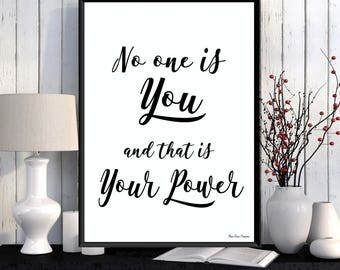 Positive inspiration, Inspirational quote wall, Inspirational her, Inspirational quote poster, Black white quote poster, Home wall art decor