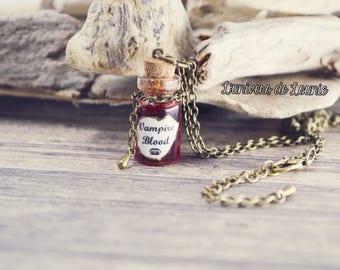 Vampire Blood Potion necklace / blood Vampire / Halloween