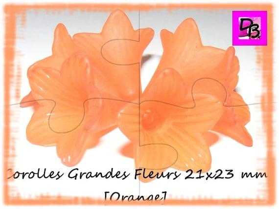 Corolle de fleur 21x23 mm [DarkOrange]