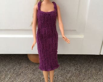 Barbie patterned dress and free matching shoes