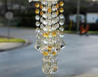 Crystal Suncatcher Custom Made Rainbow Prisms Window Decor Gifts