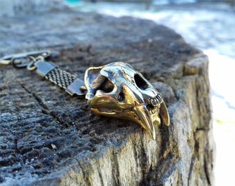 Dinosaur skull pendant, Smilodon, Saber-toothed tiger, Cat skeleton, 3d skull, gothic pendant, Dinosaur jewelry, Cat necklace, Cat keychain