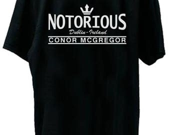 Notorious Crown Dublin Ireland Conor Mcgregor UFC Fight Night T-Shirt