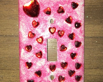 Valentine's Day Love Light switchplate