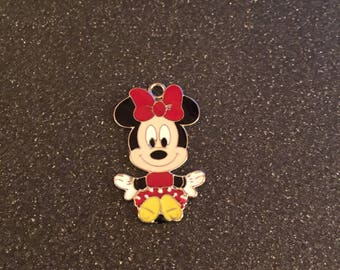 Minnie Mouse sitting charm