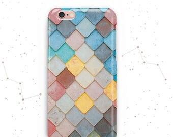 iPhone 6 Plus Case iPhone 7 Case Geometric Samsung S4 Case iPhone 6s Case Colourful Tiles Phone Case iPhone 5 Samsung S6 Phone Cases