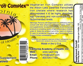 Vegetarian Iron Complex