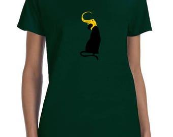Loki's Army: Loki Cat T-shir- Burdened with Glorious Purrrrpose