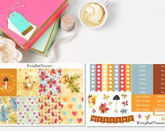 Beautiful Fall/Autumn Weekly Kit- ECLP