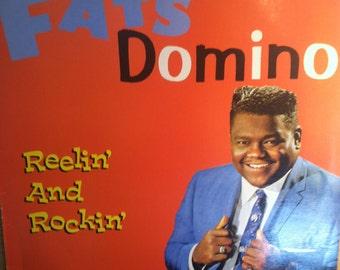 Fats Domino Reelin And Rockin Vinyl Rock Record Album