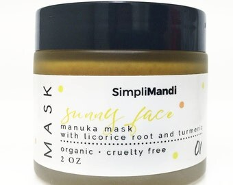 Sunny Face honey mask