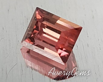 Tourmaline Rubellite 1.3 Ct Loose Gemstone Natural Ror Engagement Ring Tourmaline Ring Necklace Precious Gemstone Precision Cut By AveryGems