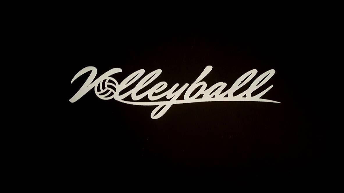volleyball gift metal wall art volleyball decor volleyball