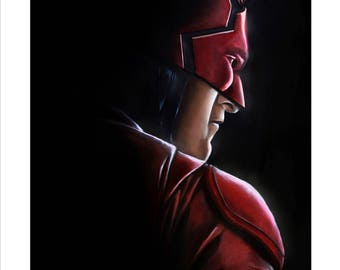 "Limited Edition 16x20 Print: ""Daredevil"""