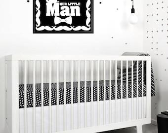 Black white nursery Etsy