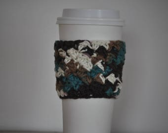 Crochet Coffee Cozy | Coffee Sleeve | Coffee Cup Cozy | Crochet Coffee Sleeve | Hot Coffee Sleeve | Reusable Coffee Sleeve | Hot Coffee Cozy
