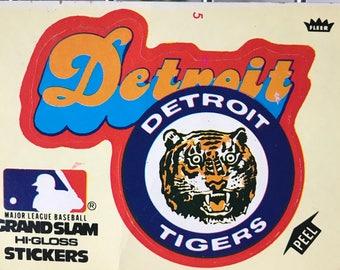 Detroit Tigers Grand Slam Sticker