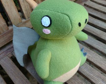 Tohru inspired Dragon Plushie from Miss Kobayashi's Dragon Maid