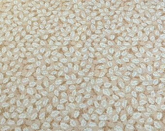 Let It Glow-Beige Leaves-Sentimental Studios Cotton Fabric from Moda Fabrics