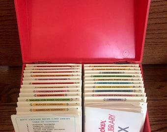 Vintage 1971 Betty Crocker Recipe Card Library ~ Vintage Recipe Cards ~ Betty Crocker Recipes ~ 650+ Vintage Recipes