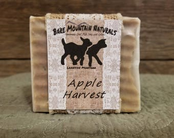 Apple Harvest fragrance All Natural Goat Milk Soap
